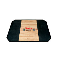 Image of York Solid Red Oak Power Lifting Platform 8' x 8'